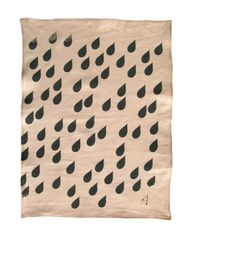 tea towel love .... Raindrops!