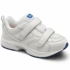 wholesale dealer 22a09 35e3a Dr Comfort SpiritX Womens Therapeutic Diabetic Extra Depth Shoe White 8  Medium MD Velcro