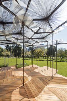Amanda Levete's MPavilion Opens in Melbourne,© John Gollings