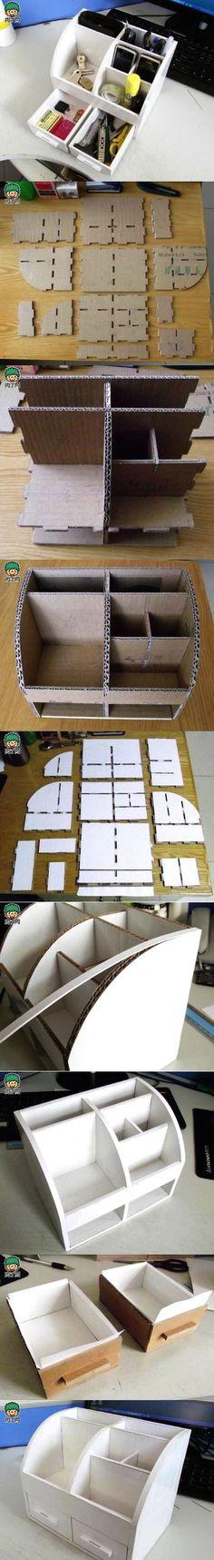 Homemade versatile storage box storage box DIY illustrations