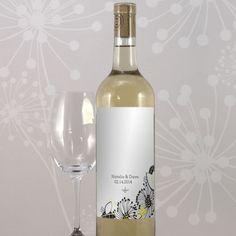 Floral Fusion Wine Label