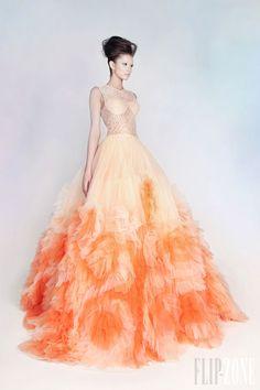 "Rami Kadi - Couture - ""Les jardins suspendus"", İ/Y 2013 - http://tr.flip-zone.com/fashion/couture-1/independant-designers/rami-kadi"
