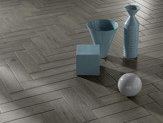 Płytki drewnopodobne układane w jodełkę kolekcja Bark Fap Ceramiche