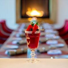 Winter Cocktail - waiting for you at Cliff House Hotel Bar Restaurant