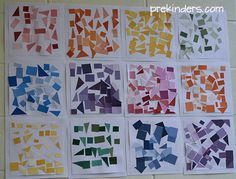 Here are some ideas for collage art work with young children. Seed Collage Children glue different kinds of seeds on paper. Sand Collage Children first draw an outline of their picture with a black ink pen, then fill it in with sand. They use a glue brush (inexpensive dollar store brush) to paint glue in …