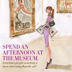 Spend the day at the museum! #31DAYSOFHB