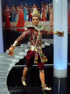 Thailand Ken Ken Barbie Doll, Barbie Miss, Barbie Collector, Barbie And Ken, Barbie Clothes, Black Barbie, Doll Costume, Barbie World, Barbie Friends