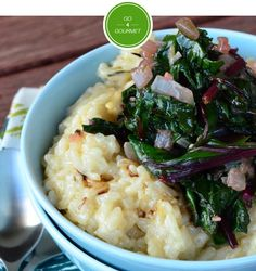 Creamy Parmesan Risotto with Beet Greens Submit your own culinary creation to Go 4 Gourmet now for a chance to win! http://go4gourmet.mccormick.com