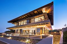 L'orientation et le design d'intérieur selon Feng shui d'une maison d'architecte sud-africaine