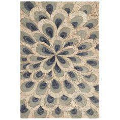 Pier 1: Etta Peacock Floral Rugs
