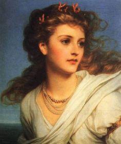 Miranda by Sir Frank Dicksee, 1878