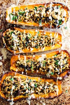 Take advantage of fresh squash this fall with this easy Savory Vegan Stuffed Butternut Squash recipe! It's savory with a hint of sweet & perfect for the holidays. Quinoa Veggie Burger, Fall Recipes, Vegan Recipes, Dinner Recipes, Cooking Recipes, Fall Vegetarian Recipes, Vegetarian Food, Vegan Food, Holiday Recipes