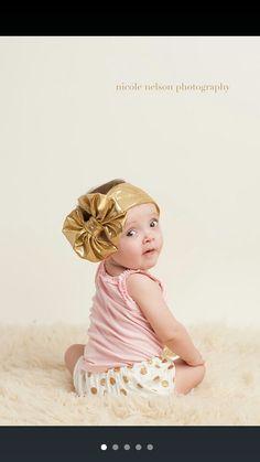 Big gold bow