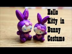 Squishy Inspired Tutorial #3: Hello Kitty in a Bunny Costume