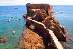 BERLENGA BLUE Hire a boat out of Peniche, Portugal, when available, and travel six miles offshore to the pristine Berlenga Islands. Then hike, kayak, snorkel, and swim the day away. Pack a picnic lunch and feast on the beach. The perfect day in paradise.