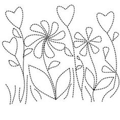 The Latest Trend in Embroidery – Embroidery on Paper - Embroidery Patterns Sashiko Embroidery, Paper Embroidery, Hand Embroidery Patterns, Applique Patterns, Embroidery Applique, Embroidery Stitches, Quilt Patterns, Flower Embroidery, Free Motion Quilting