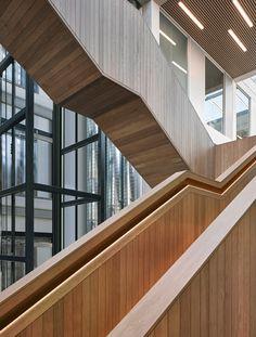 columns frame lancaster university engineering building