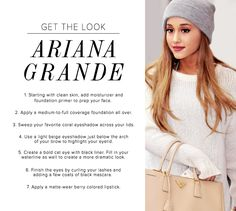 Get the Look: Ariana Grande at LuLus.com!