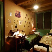 """Anne Frank's secret hiding annex in Holland.  A Pinner states:  """"One of the moving, spiritual moments I have had in a place.  You could just feel her presence."""""""