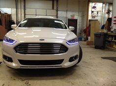 2013 Ford Fusion Titanium HID strip. Makes it even more so like an Aston! Im starting to like these..