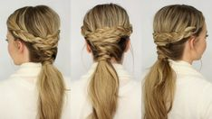 Braid Twisted Ponytail | Missy Sue