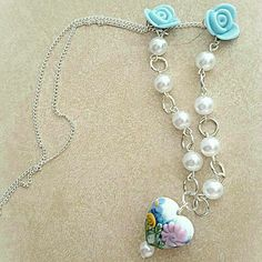 What a perfect #MothersDay #necklace! So springy   Find this and many more jewelry items in my Etsy shop