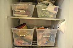 TIP GARDEN: Freezer 101: Organize Your Freezer To Save Money