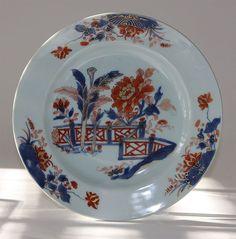 Chinese Imari Porcelain Plate. ca.1730.