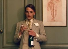 Charles Ryder in Brideshead Revisited.