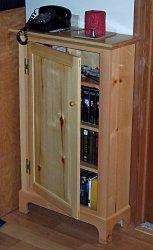 Dvd Cabinet Plans Storage Cd Bookcase