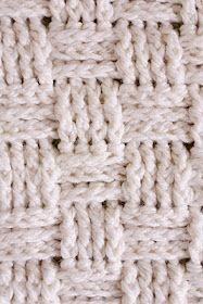delia creates: Nesting: Basket Weave Crochet Baby Blanket