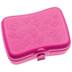Best Amazon price for Koziol Susi 3088584Lunch Box, Plastic, pink…