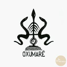 "OXUMARE - DA SÉRIE: ""AS ARMAS DOS ORIXÁS"" - See https://s-media-cache-ak0.pinimg.com/originals/23/c5/21/23c5216c42d3821d70b343d0257c440f.jpg"
