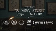 'You Wont Regret That Tattoo' is a short documentary that explores the meanings and memories behind the tattoos of an older generation, and challenges…