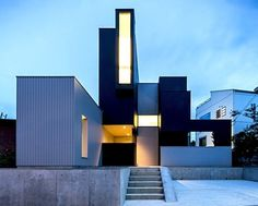 Cubist 'Scape House' Resembles a Giant Stack of Blocks