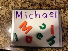 Name of the Day! One of my 2 favorite circle time activities for Preschool and Pre-K...so fun and SO effective!