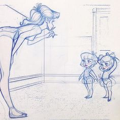 Hush little dancers.