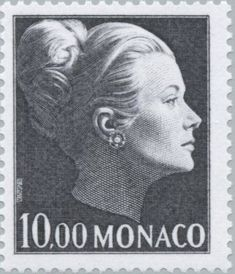 Kelly Stamps, Princesa Grace Kelly, Monaco Princess, Patricia Kelly, How To Be Graceful, Monaco Royal Family, Vintage Stamps, Penny Black, Tampons