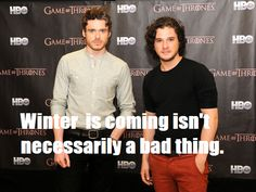 31 Brits To Help You Keep Calm (And Carry On): Richard Madden and Kit Harrington