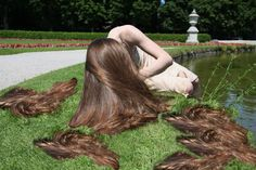 """Easy to say you want lived in hair and a lot of you want it and think that it literally means doing nothing at all and expecting it to look """" post ready """" without doing anything. Bun Hairstyles For Long Hair, Work Hairstyles, Beautiful Long Hair, Amazing Hair, Beautiful Women, Forced Haircut, Crop Hair, Girls Short Haircuts, Cut Her Hair"""