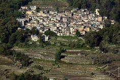 Китай. Деревня Доишу. Террасовые рисовые поля Юаньян.