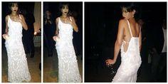 Total white per la sensuale Rhianna, sexy ed elegante con un abito da sera che arriva direttamente dalla collezione di Roberto Cavalli.http://www.sfilate.it/213292/rhianna-non-si-lascia-domare-tantomeno-con-un-abito-cavalli-addosso