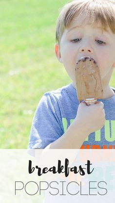 #AD #caloriecountdown #IC @hphood Delicious and creamy popsicle and fudgesicle--perfect for those hot mornings when a cold treat would make for the perfect breakfast!  homemade popsicles, hood calorie countdown, milk recipes, dairy beverage, breakfast, popsicles, breakfast popsicles, quick snacks, summer snacks, chocolate, cocoa, cacao nibs, simply orange juice, zoku popsicle recipe, summer snack, spring snack, hot weather snack, 5 minute snack Summer Snacks, Fun Snacks For Kids, Quick Snacks, Breakfast Popsicles, Breakfast Smoothies, Frozen Desserts, Sweet Desserts, Frozen Treats, Toddler Meals