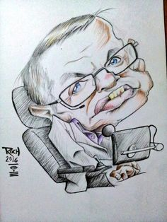 Stephen Hawking #caricature