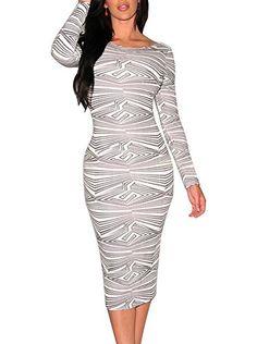 #mididress #patterndress #bodycondress #long-sleevedress #partydress