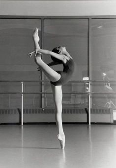 On pointe:)