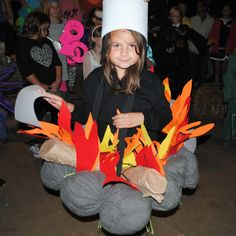 Campfire Costume At The Contest During 2012 Halloween Weekends