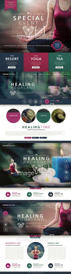 website web source event template