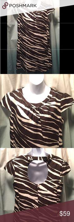 Kate Spade Dorothy zebra print shift dress Excellent condition kate spade Dresses