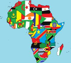 "African countries flags icons set african countries territories with african map and countries flags vector africa country flag africa mapRead More ""African Countries Map Flags"" African Union, African Nations, Africa Continent, Art Noir, Countries And Flags, Africa Flag, Afrique Art, Africa Destinations, Country Maps"